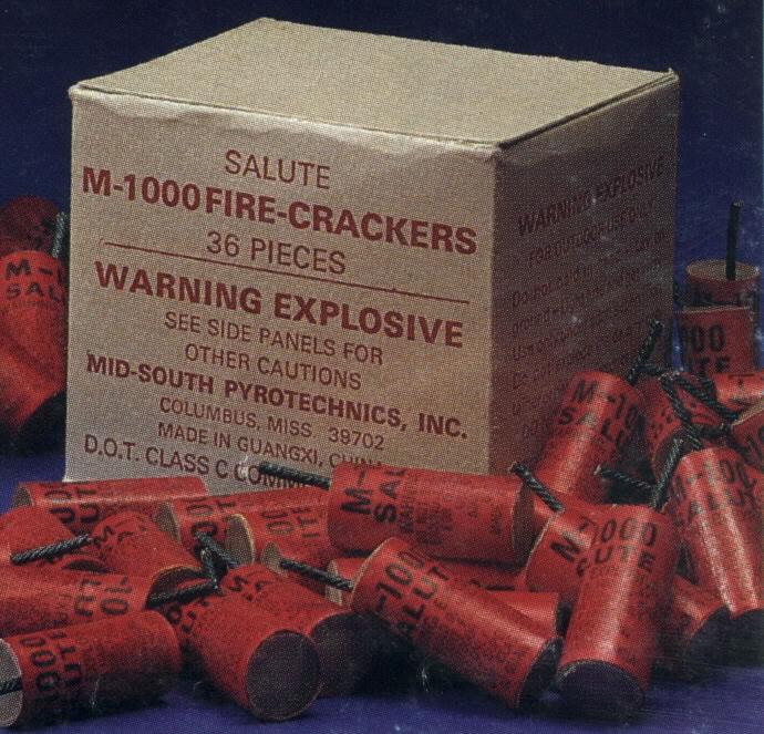 M1000 Box Fire Crackers Houston Cheap Fireworks